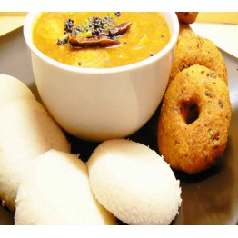 MEDU VADA - IDLI - COMBO PACK - 10 PLATES (20 PIECES MEDU VADA & 10 PIECES IDLI) READY TO EAT