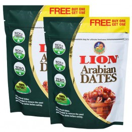 Lion Arabian Dates 500 gm Buy One and Get One Free – 500 gm x 1 = 1 Kg
