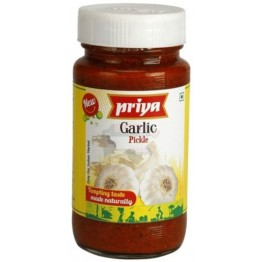 Priya's Garlic Pickle – 500 gm