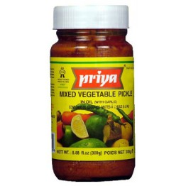 Priya Mixed Vegetable (With Garlic) – 300 gm