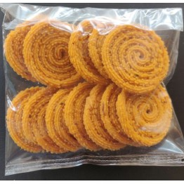 Rice Murukku / Chakli - Big - made by using Rice Flour and Fresh and Pure Vegetable Oil