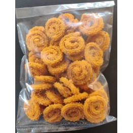 Baby Murukku / Chakli (Small) - made by using Rice Flour and Fresh and Pure Vegetable Oil