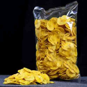 Kerala Banana Chips - Round Shape - Paper Nice Quality